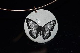 Náhrdelníky - Motýl - 3066084