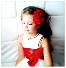 Ozdoby do vlasov - Kvet vášne. - 3075791