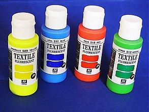 Farby-laky - AKCIA - Fluorescenčné (neónové) farby na textil - 3080120