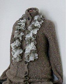 Šály - volánkový šál-zľava z 9,0€ - 3083710