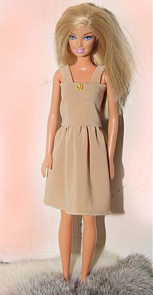 fbaee36e7be4 Hračky - Krémová nočná košieľka pre Barbie - 3084027