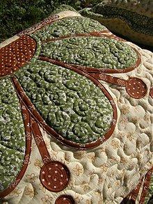Úžitkový textil - Ako rastie kvet...:))) - 3084527