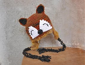 Detské čiapky - listicka - 3084707