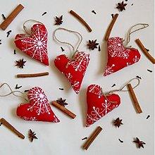 Dekorácie - Vianočné Srdiečko - 3091100
