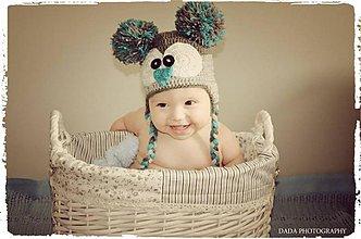 Detské čiapky - Koala - 3092143