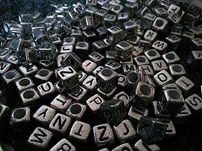 Korálky - Komponenty písmenká - 3096346