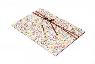 Papiernictvo - Zakladacie dosky A4 s kvetinovým motívom - Rose - 3099546