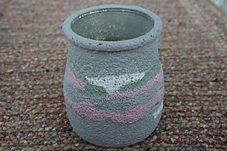 Svietidlá a sviečky - svietnik ružovošedý 2 - skladom - 3101001