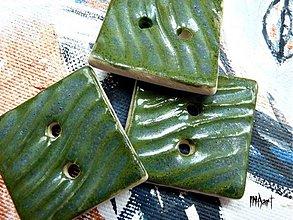 Materiál ručne robený - Gombík - 3101054