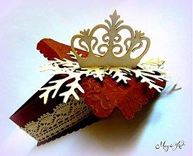 Krabičky - Vianočná tortička