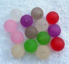 Korálky - Plast 12mm-MIX-14ks - 3106730