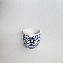 Nádoby - pohár malý modranska - 3107362
