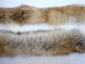 Suroviny - Detský lem na kapucu - líška - 3109522