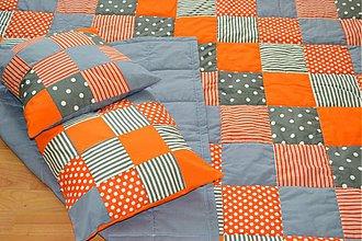 Úžitkový textil - ORANGE SUMMER - 3113202