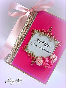 Papiernictvo - Ružová Anička - 3114979