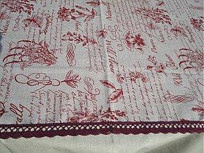 Úžitkový textil - Obrus - Herbs - - 3116170