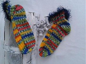 Obuv - Ponožky členkové-75%vlna - 3117815