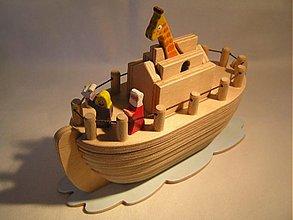 Hračky - Noemova archa 2 - drevená skladačka pre deti - 311921