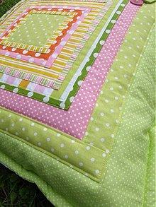 Úžitkový textil - Milujem farby...a život-vankúše 2 - 3121046