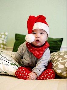 Detské čiapky - Vianočná čiapka - 3122160