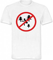 Oblečenie - Zákaz pokládky v parku - 3123058