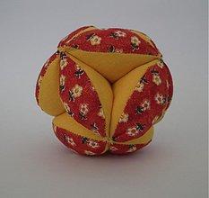 Hračky - Kvetinková loptička pre bábätko - 3123620