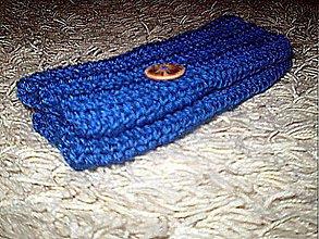 Rukavice - Rukohrejivé...blue - 3123707