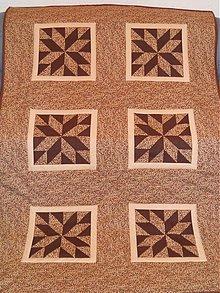 Úžitkový textil - Patchworková deka - 3127371