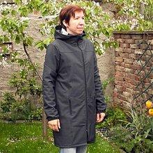 Kabáty - Softshellový dámský kabát, Vel: 40 - 42, u velikosti 36-38 sleva 5,00 €, Lehký softshell, DT - 433 - 3128639