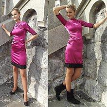 Šaty - Saténové šaty Spain  SKLADOM - 3131046