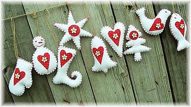 Dekorácie - Vianoce v Karkulkinej chalúpke - 3134349