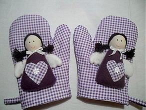 Úžitkový textil - anjelské chňapky - 3137194