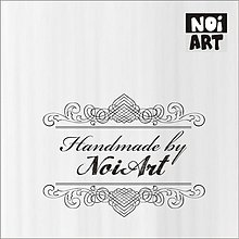 Nezaradené - Pečiatka Handmade ornamenty1 - 3138271
