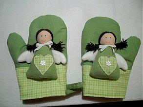 Úžitkový textil - anjelské chňapky - 3143722