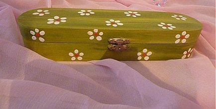 Krabičky - krabička kvetinkovaná - 314688