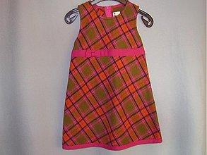 Detské oblečenie - Vlnené šaty - V 92 - 3149491