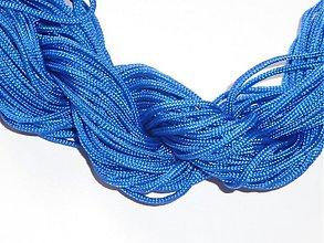 Galantéria - Nylonová šnúrka 1,5mm kráľovská modrá 27 - 3150994