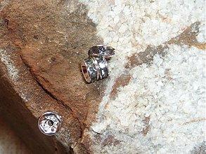 Komponenty - Rondelka krištáľová čierny diamant 4 - 3151120