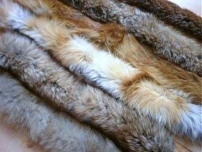 Suroviny - Lem na kapucu líška - extra huňatý - 3152900