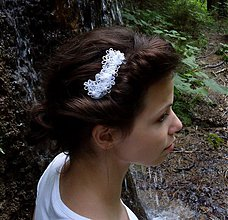 Ozdoby do vlasov - Svadba v tieni lesa II - 3153230