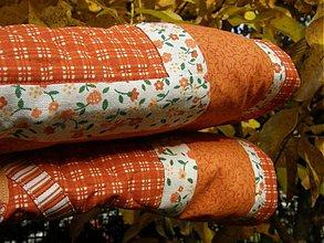Úžitkový textil - Kvety za oknom 4-zástena ...:) - 3153650