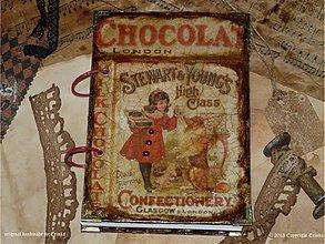 Papiernictvo - Čokoláda-kľúč do sveta fantázie.....Carcoolcaaa - 3155505