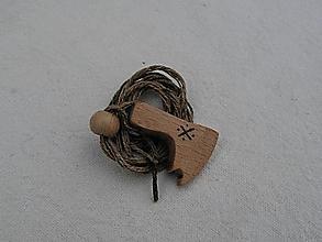 Náhrdelníky - Perúnova sekerka - prostá - 3158353