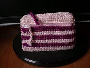 Peňaženky - Peňaženka - cviklovo-ružová - 3160011