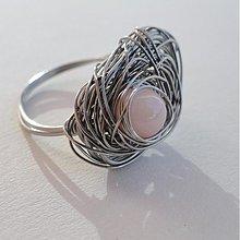 Prstene - s růžovou perletí.. - 3160743