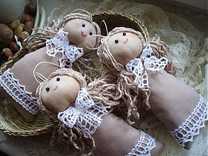 """Dekorácie - Bábiky - """"Perníčky""""  - 3163941"""