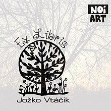 Drobnosti - Pečiatka Ex Libris Strom - 3169196
