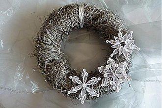 Dekorácie - vianočný veniec - 3170234