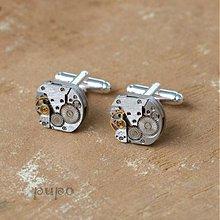 Šperky - Strojkové manžetové knoflíčky - 3179001