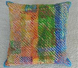Úžitkový textil - Vankúš žinylka 2 - 3182796